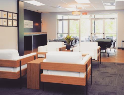 Salle de réception lounge